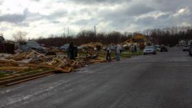 November 2013 tornado damage