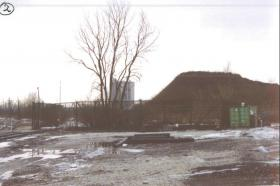 The site of a former auto shredder operated by Midwest Metallics in Summit, Illinois