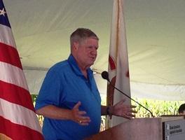 Republican U.S. Senate candidate Jim Oberweis.