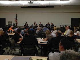 Town Hall meeting at the Peoria Public Library Main Branch on the Medical Cannabis Pilot Program.