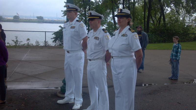 The Navy Club Ship 34 Memorial Day event on Peoria's Riverfront