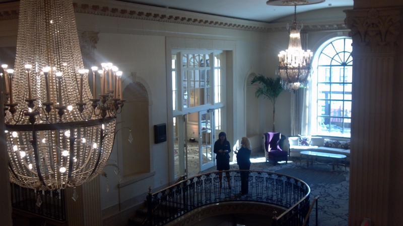 Peoria Pere Marquette Marriott upper lobby
