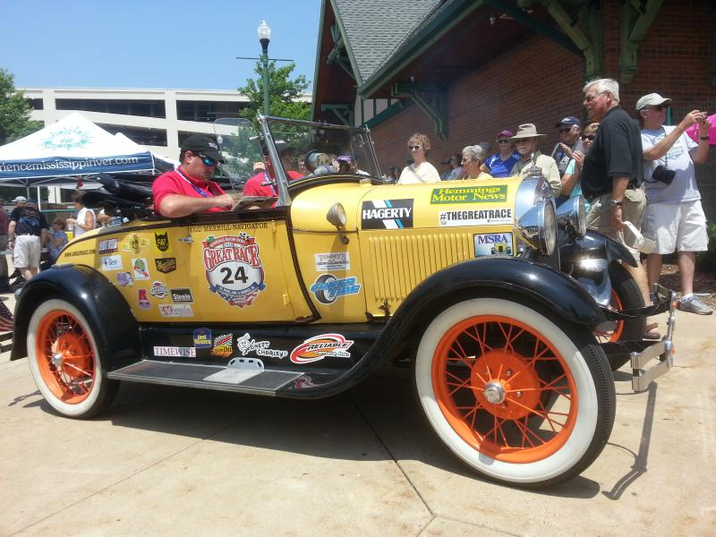 A 1929 Ford Model A Roadster Fresh Off the Road