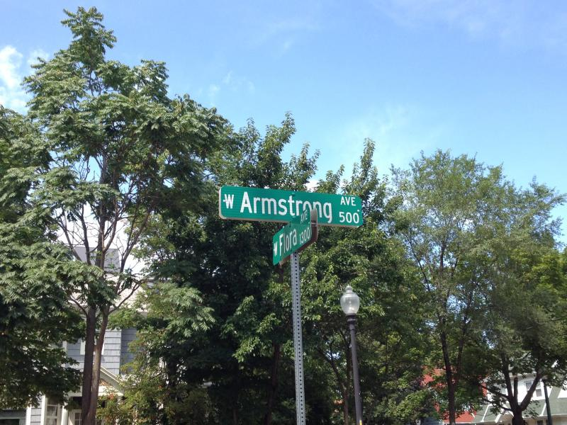 Armstrong Street houses the first Resident Officer in Peoria.