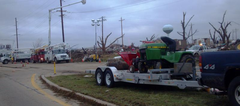 The work goes on to help Washington recover from the complete devistation left after the Sunday, November 17, 2013 tornado.