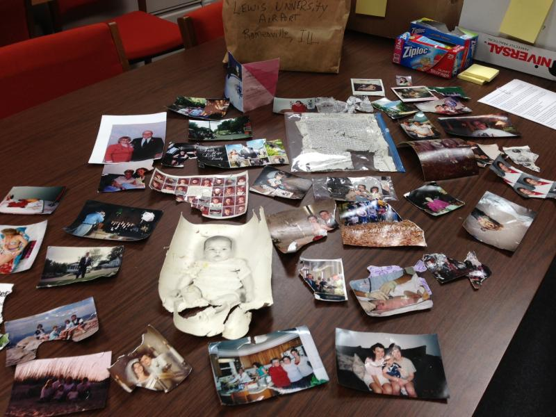 Photos found in northern Illinois following storm