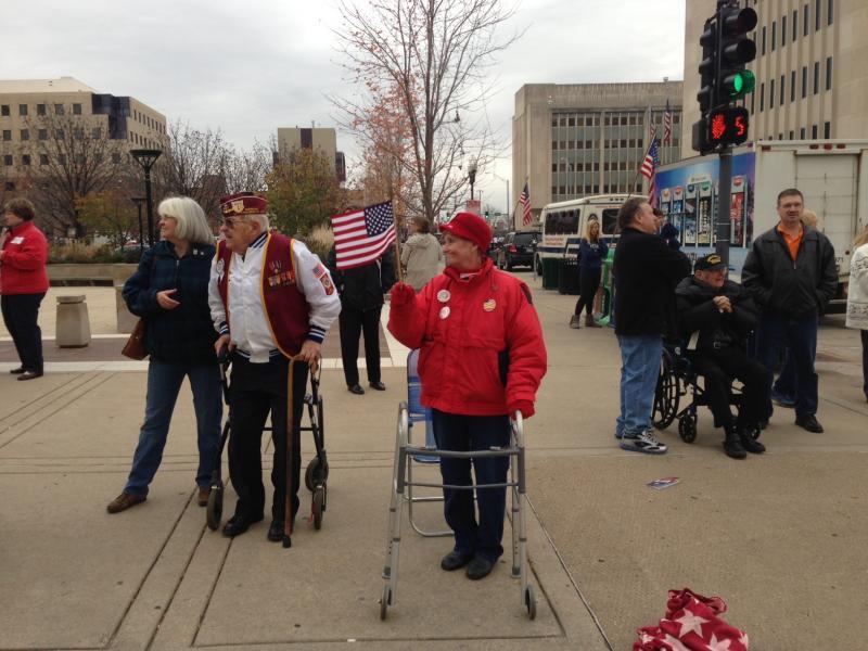 Area residents enjoy Veterans Day parade