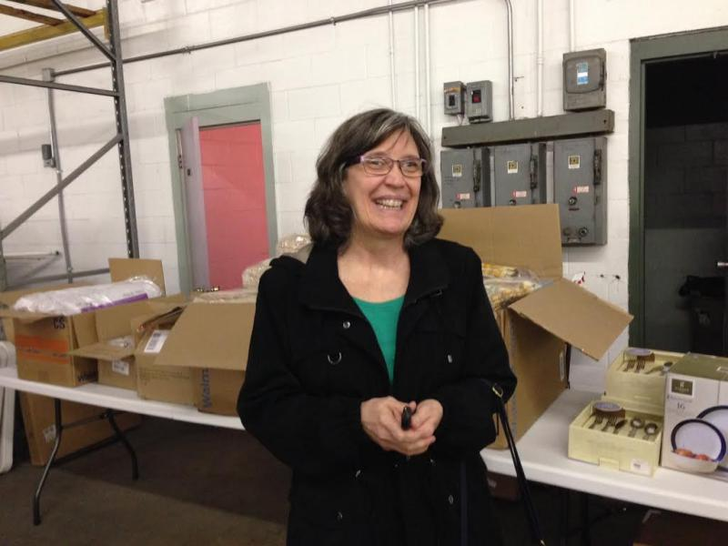 "Washington resident Karla Riter is one of the recipients of the ""House in a Box"" program."