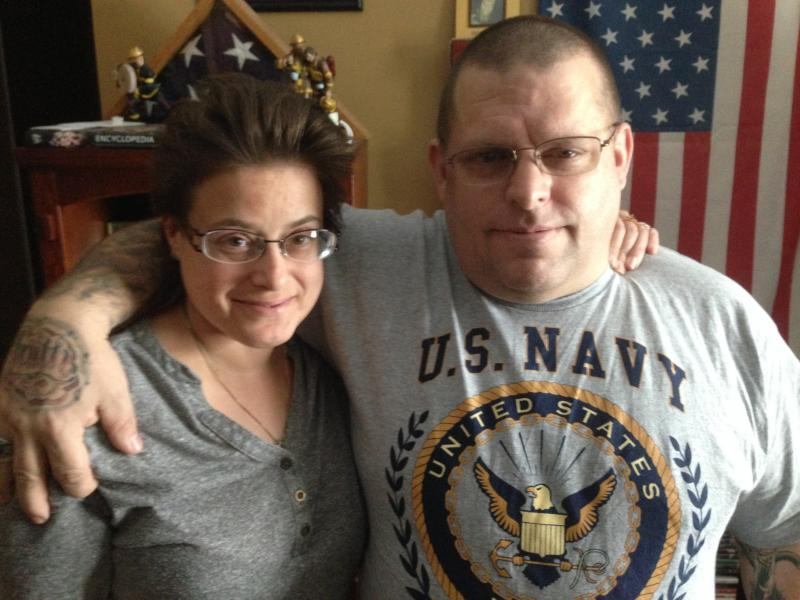 Rich and Holly Brandt at their home in St. Joseph, Il.