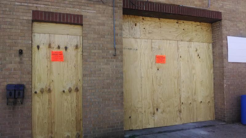 N E Adams Street property that's been deemed unfit