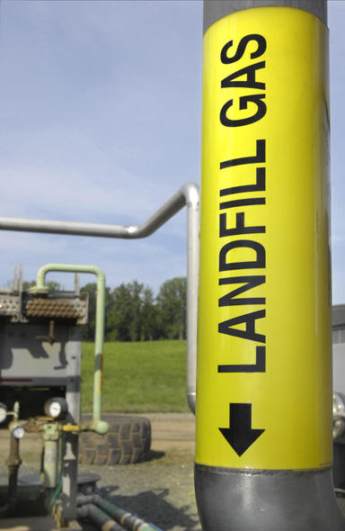landfill gas to heat illinois homes