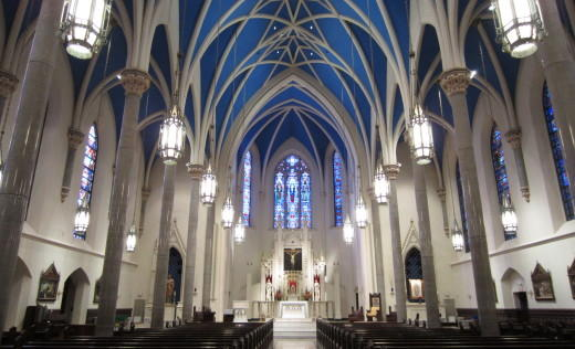 restoration work begins at st  mary u0026 39 s cathedral in peoria