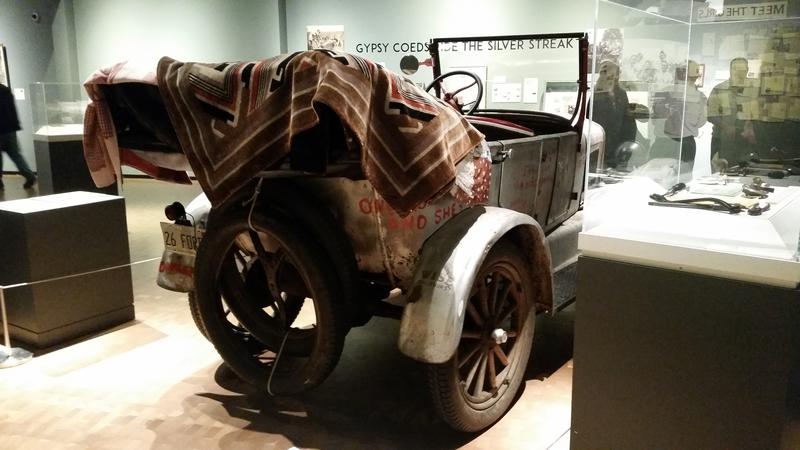 After 90 years, many of the Model T's original parts survive. While patched and repaired many times, the Ford remains in driveable condition.