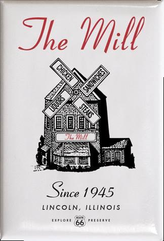 The Mill's days as a restaurant may be over, but its still serving up history. The building now houses a Route 66 museum.
