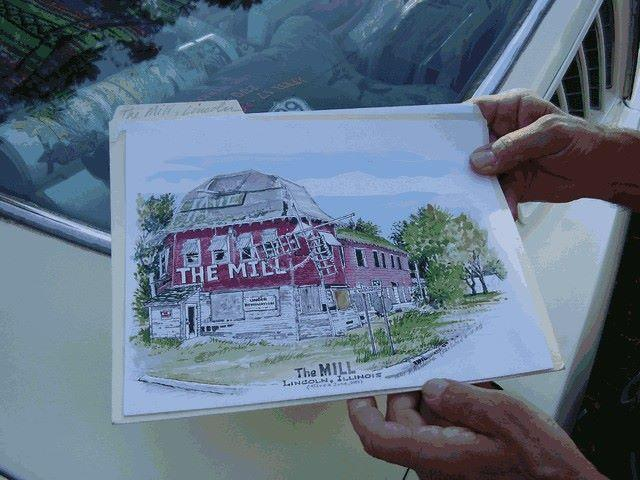 Artist's rendition of The Mill in Lincoln.
