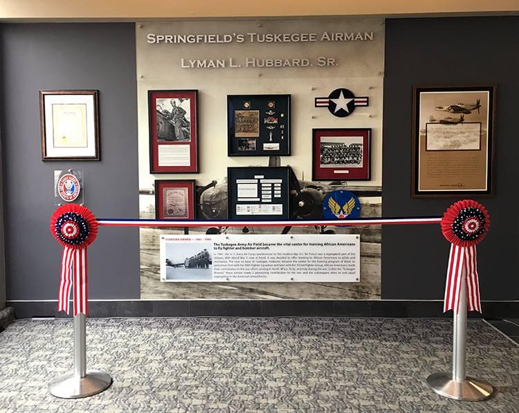 Springfield's Tuskegee Airman Memorial pays homage to Springfield native Lyman L. Hubbard, Sr.
