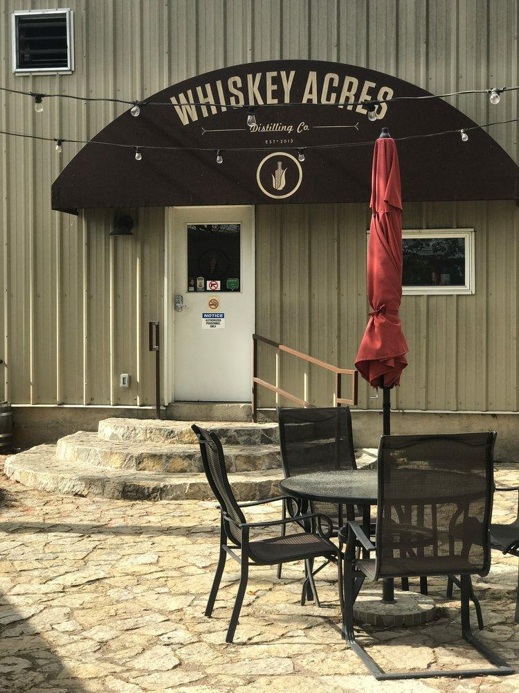 Whiskey Acres is open for tours every Friday through Sunday from March through November.