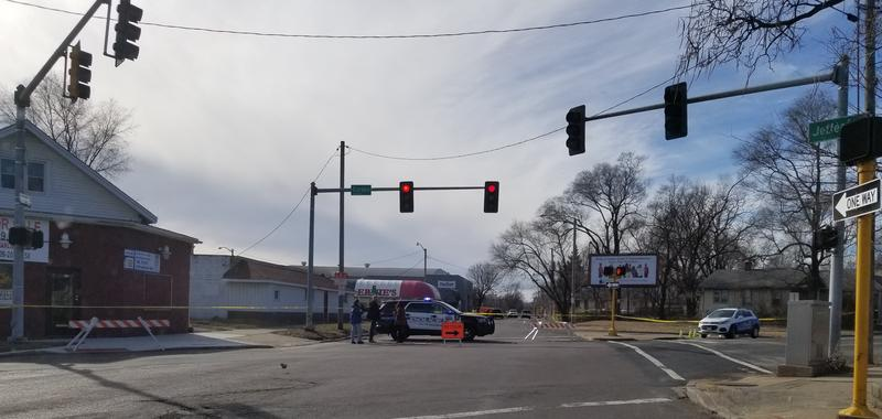 Traffic along Jefferson Ave. at Garden was shut down following the early morning shooting. Motorists were also asked to avoid the areas bordered by Jefferson Ave. and Adams St.,  and Apple St. to Leland St. until further notice.