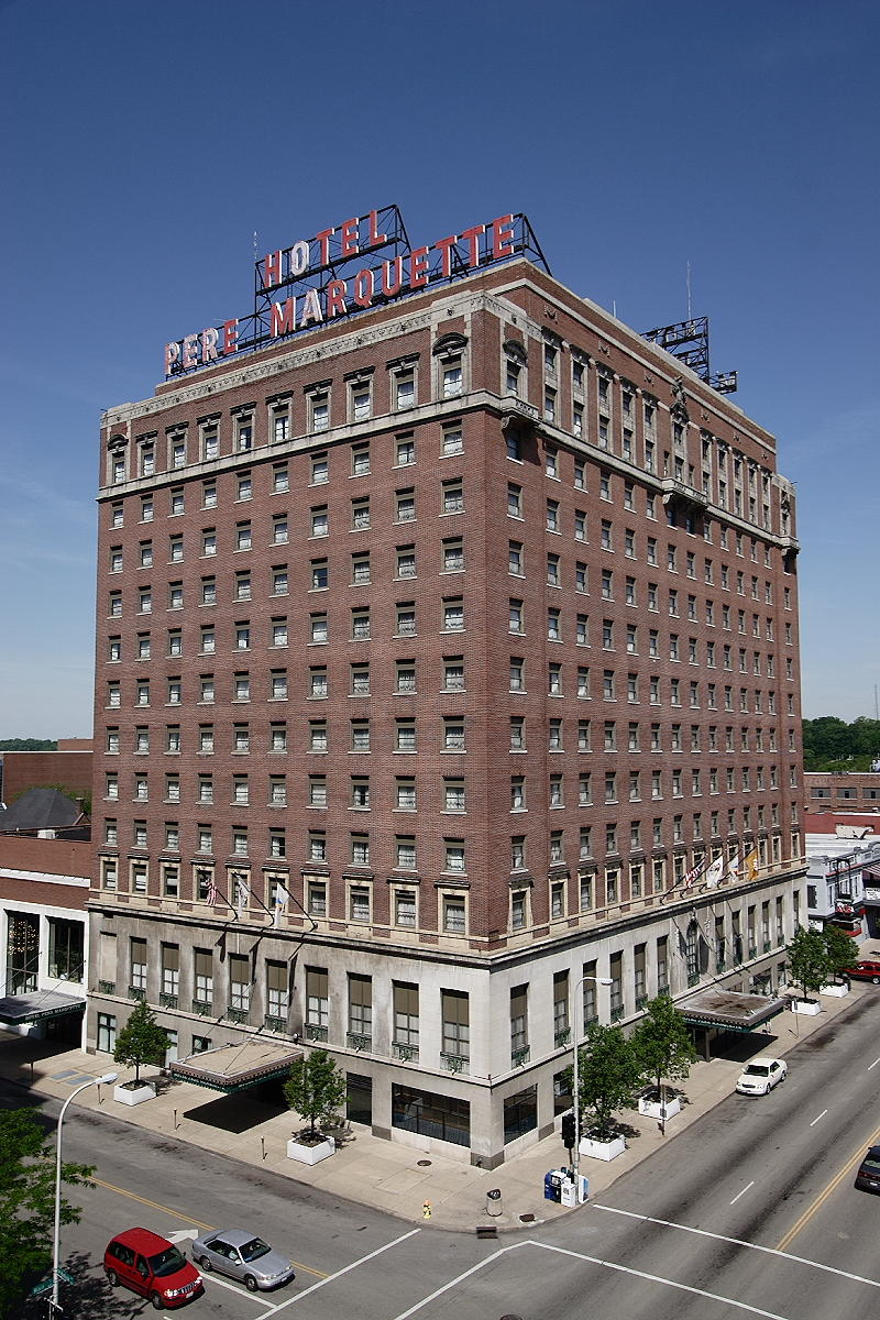 The Pere Marquette Hotel was placed on the National Register of Historic Places in 1982. Most recently, the landmark underwent massive rennovations in 2011.