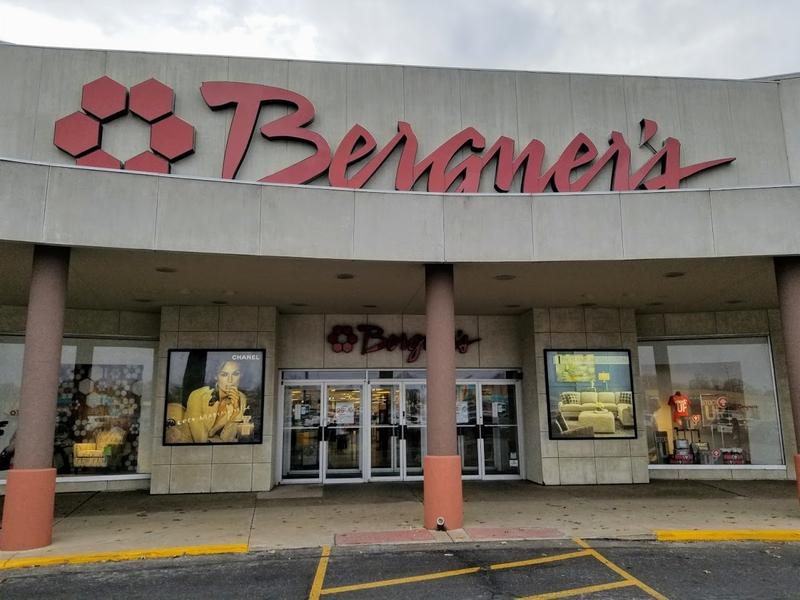 The Sheridan Village Bergner's store is one of three area retail locations.  Others include The Shoppes at Grand Praire in Peoria, and Pekin.