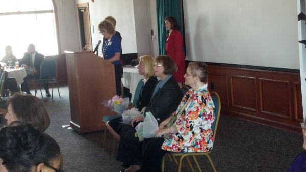 2014 Women to Women Leader Luncheon Award winners Dr. Mary Schultz, Janet Lange & Polly Barton.