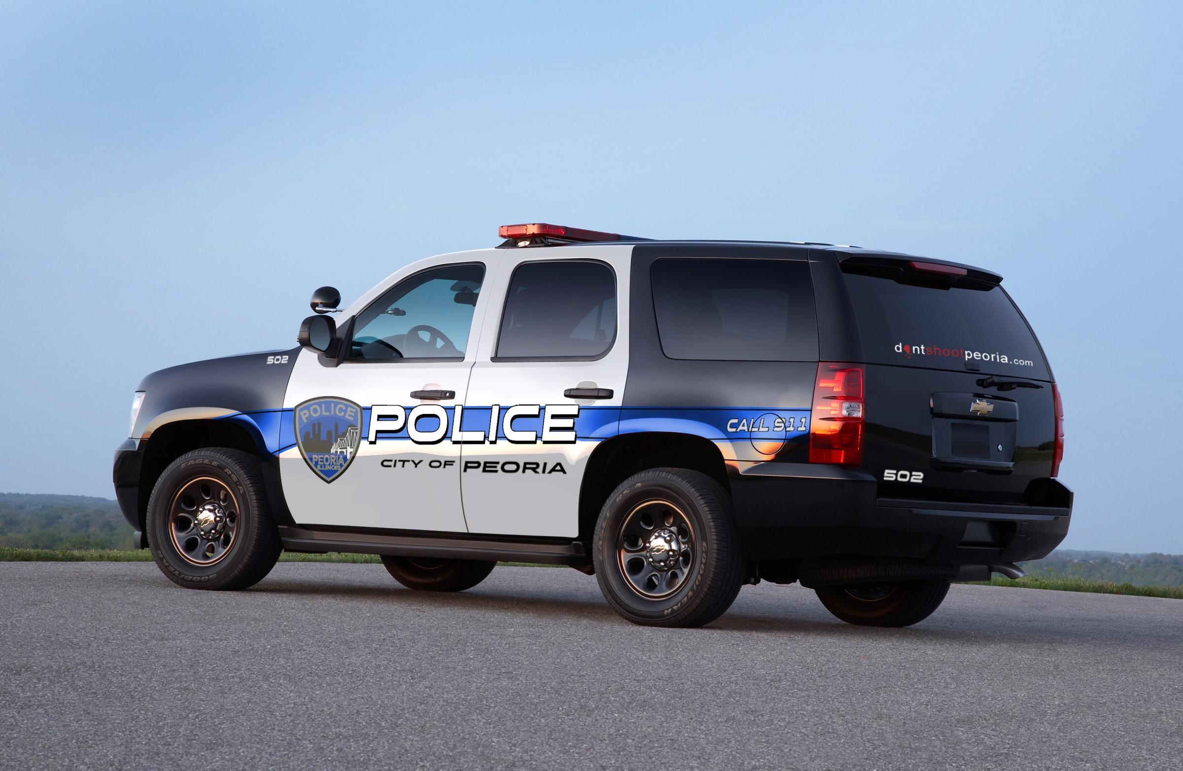 A New Look For Ppd Cars Peoria Public Radio