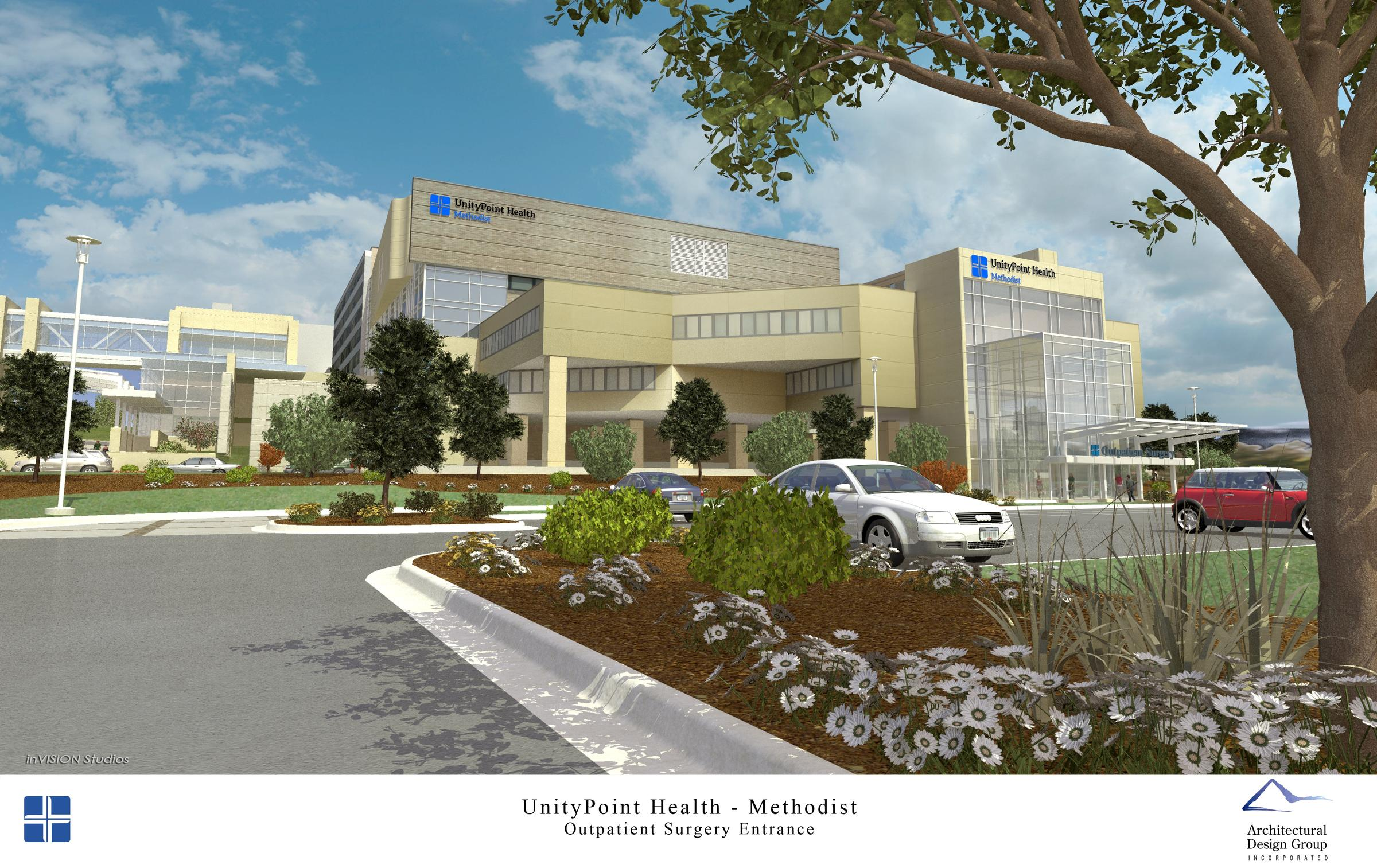 Parking, Entrance Improvements Planned For UnityPoint Health Methodist