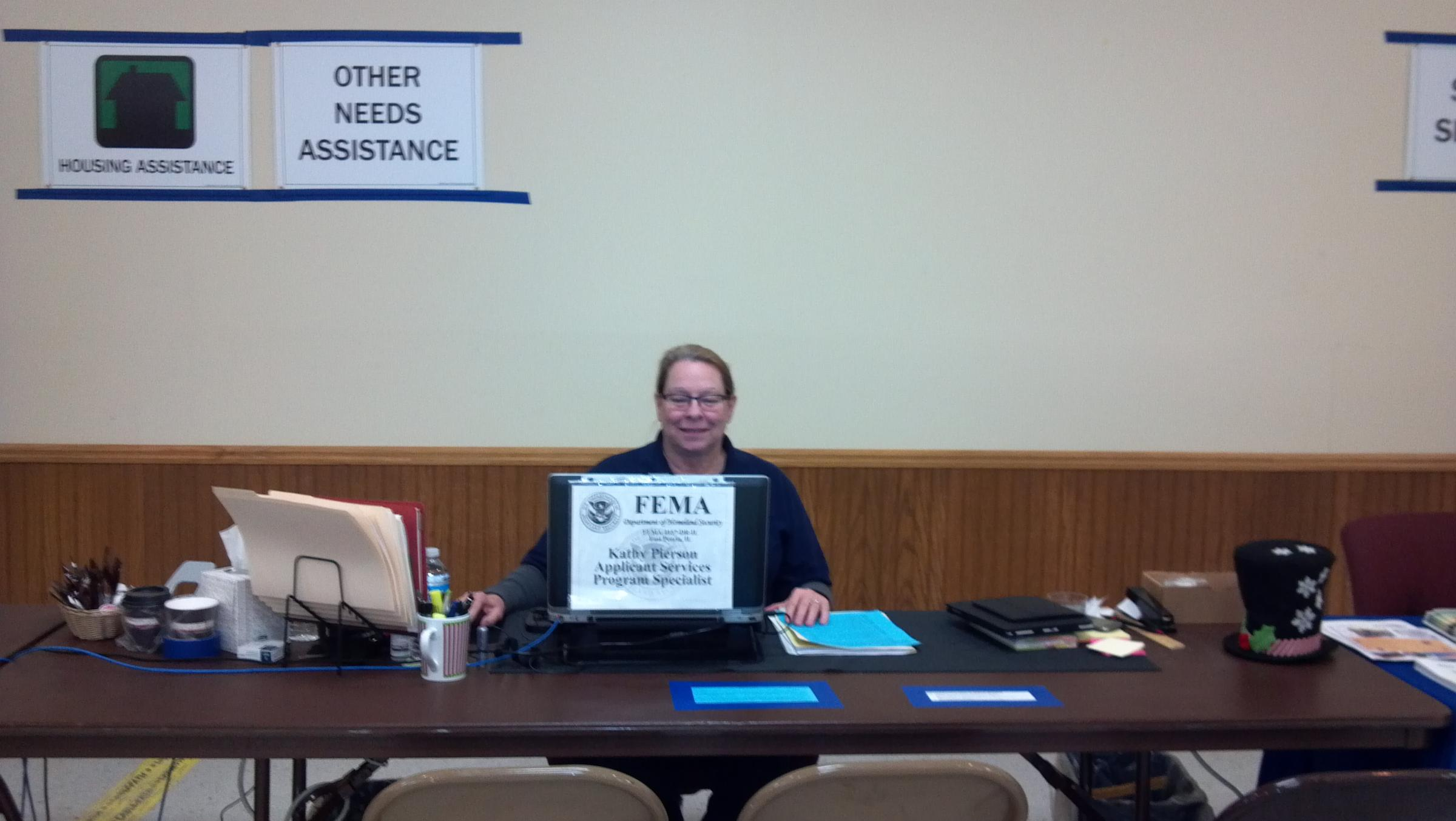 inside a fema disaster help center peoria public radio