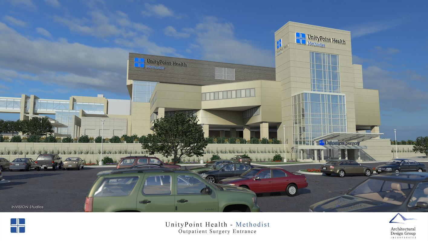 UnityPoint Health Methodist Campus Getting A Makeover