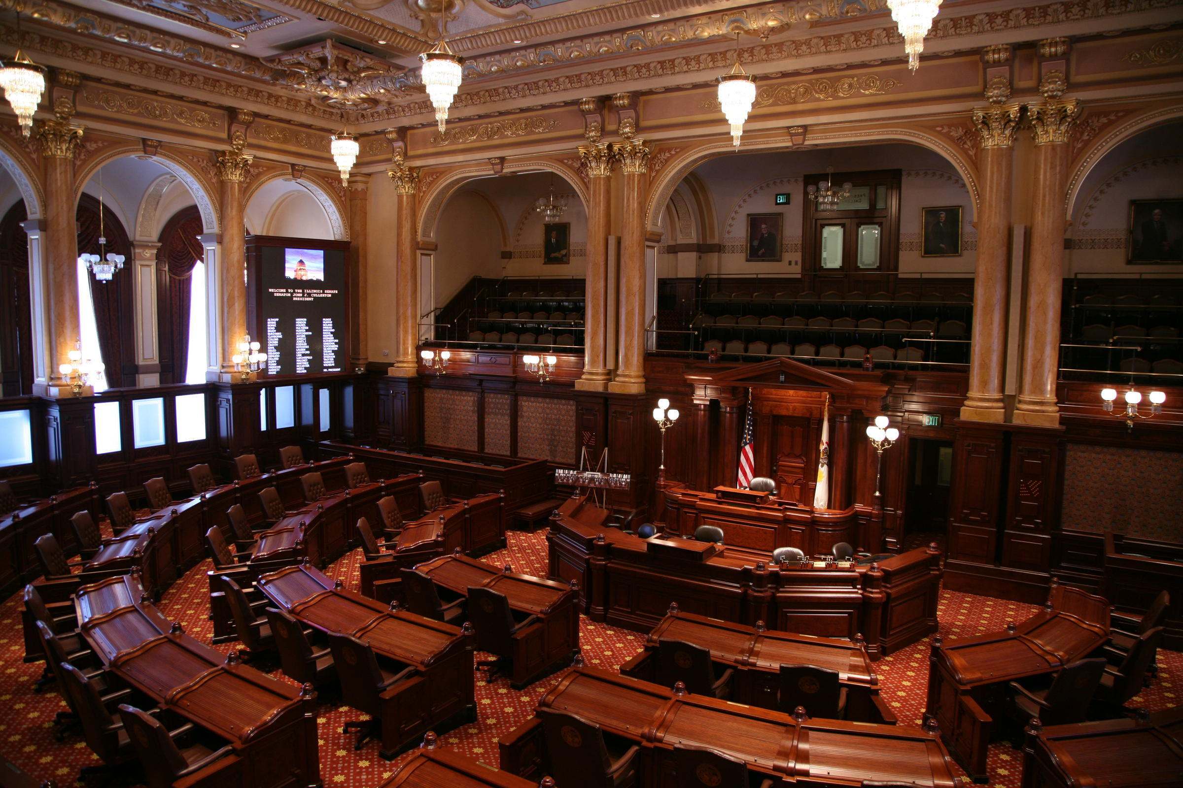 Illinois Senate does not vote on budget deal