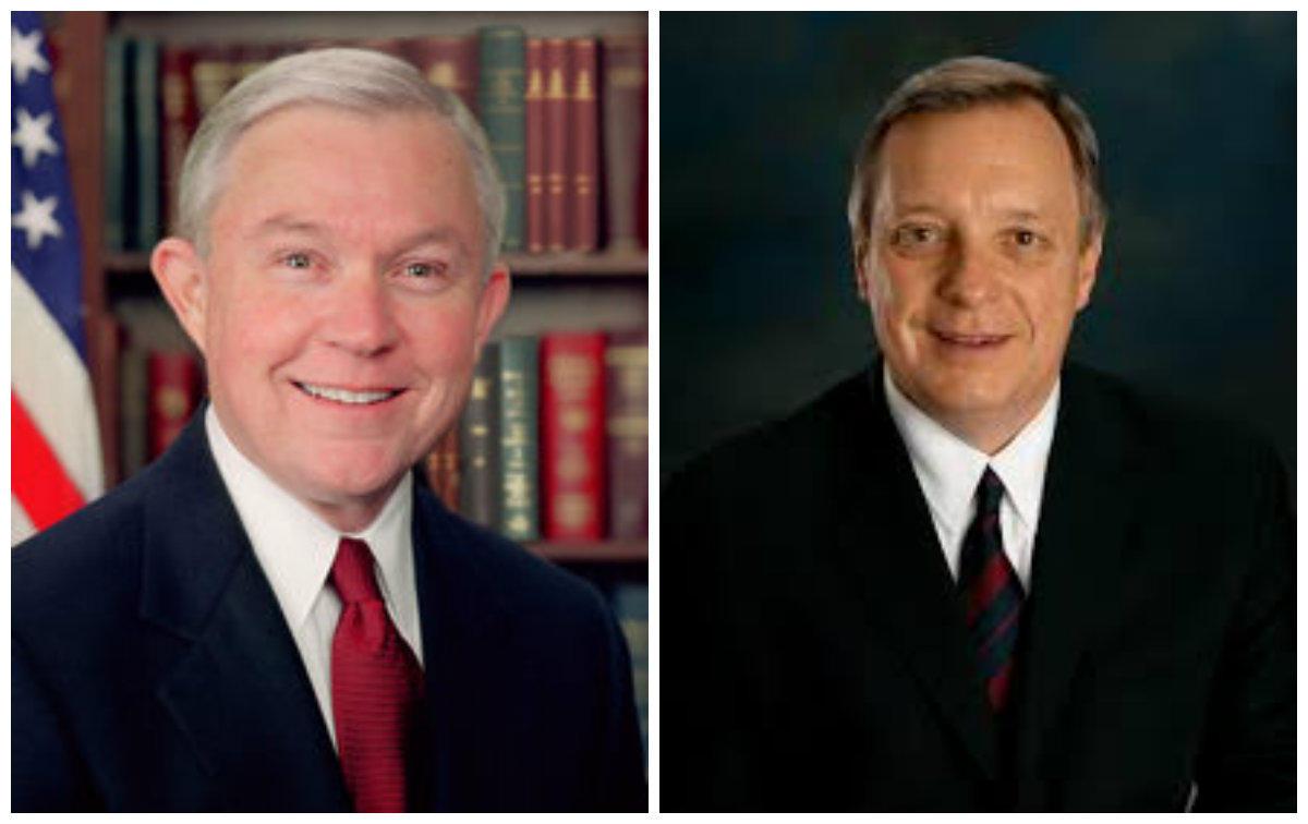 Senator Jeff Sessions, U.S. Senator Dick Durbin