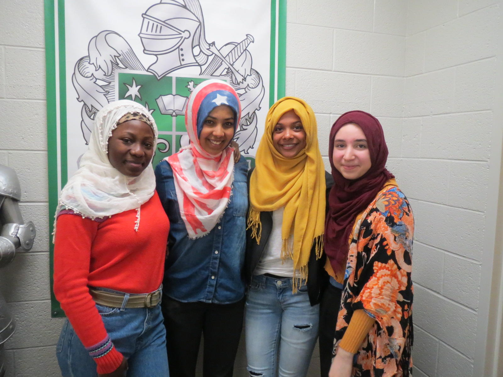 Faith groups gather to celebrate World Hijab Day