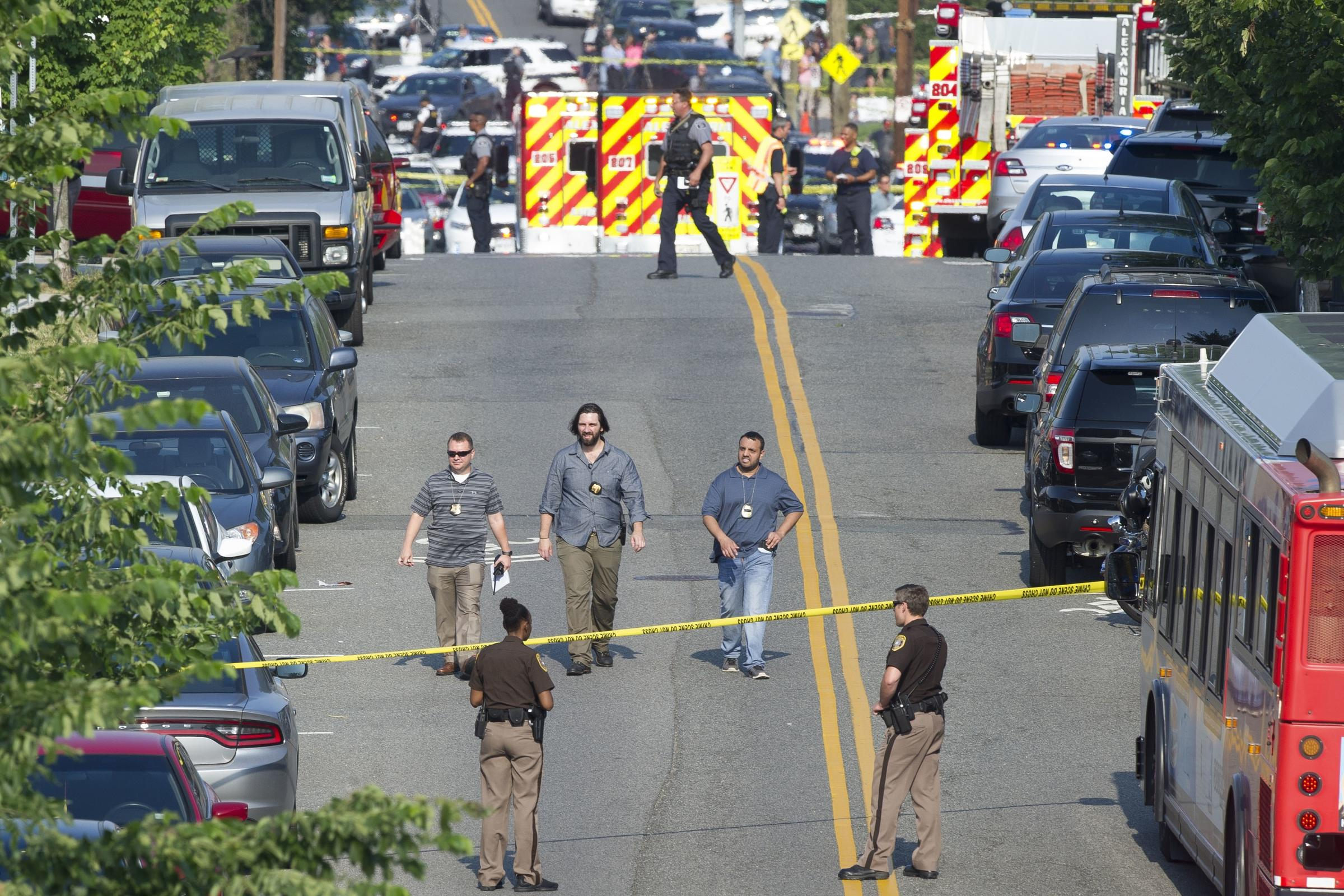 Alexandria shooting victims: Scalise, police officers, 2 others wounded