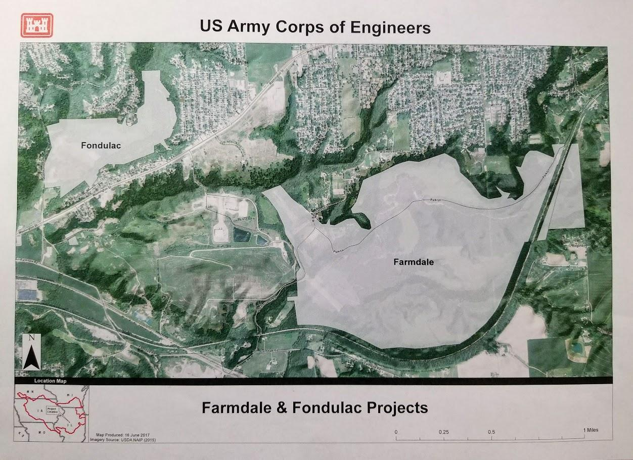 Army Corps Farm Creek Project Seeks Public Input Peoria Public Radio - Map us government owned land
