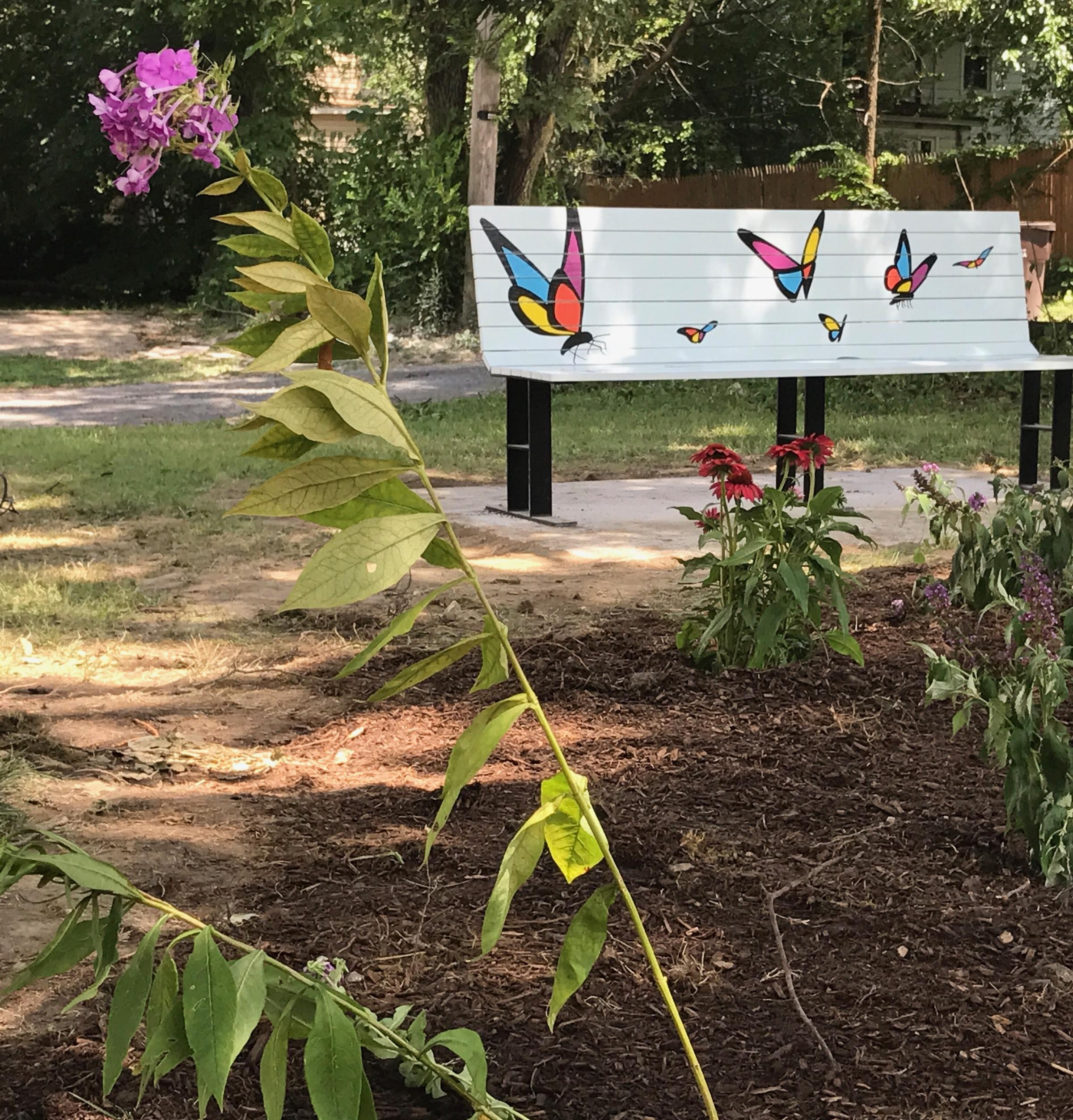 East Bluff Garden Designed to be a Refuge for Monarchs, Neighbors ...