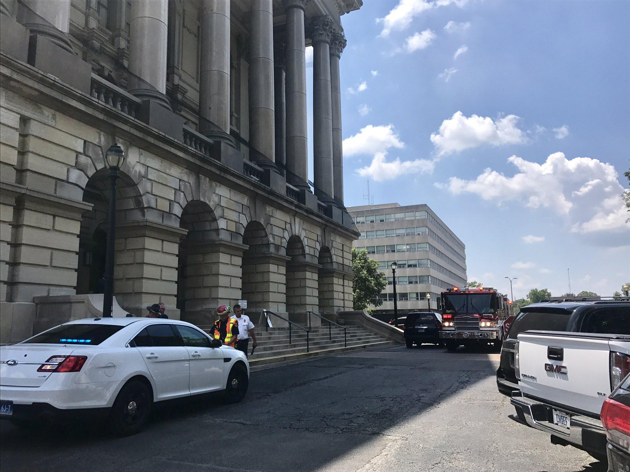 Budget vote delayed as Capitol building on lockdown