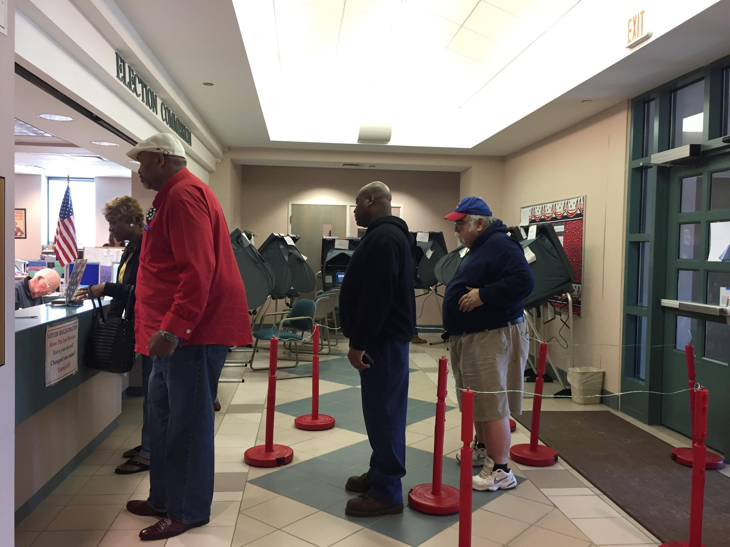 Early voting under way in March 6 primary elections