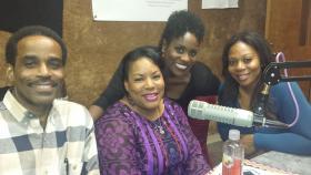L-R Ezell Blues, Tiffany Cochran, JaQuitta Williams, Christal Jordan