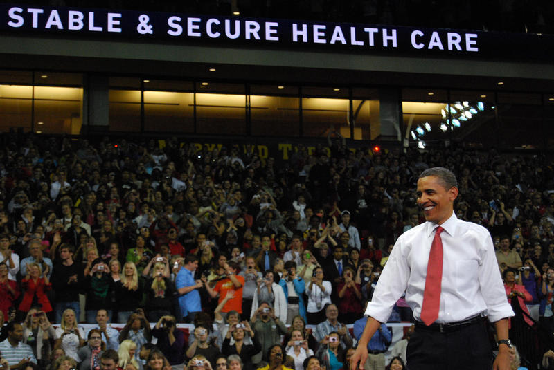President Obama at Affordable Healthcare Rally, University of Maryland 9/17/2009