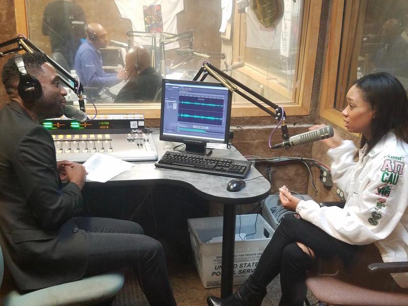 Ray Cornelius with actress Terri Abney