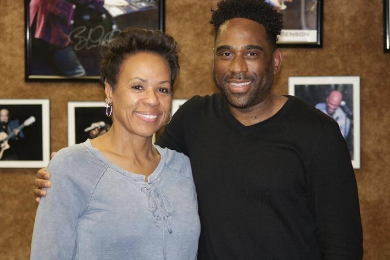 Ray Cornelius with Sheri Riley