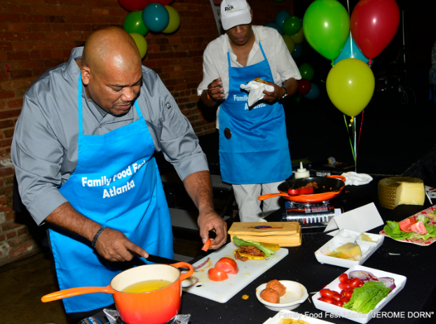Chef Jerome Dorn from the 2016 Family Food Fest
