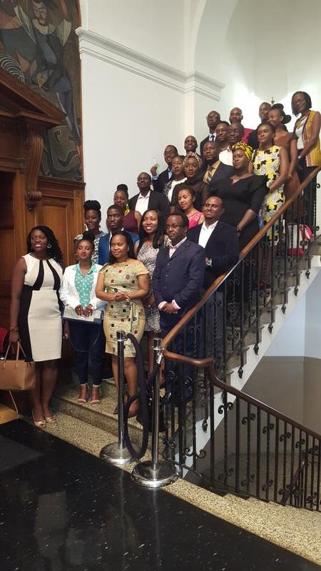 The 2017 Clark Atlanta University YALI Fellows