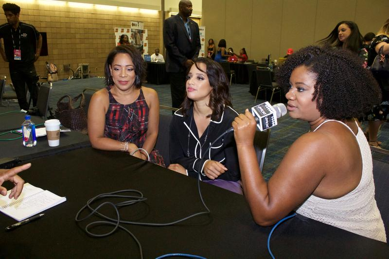 """""""Orange Is The New Black"""" cast talking to #UPFRONT during ESSENCE Festival"""