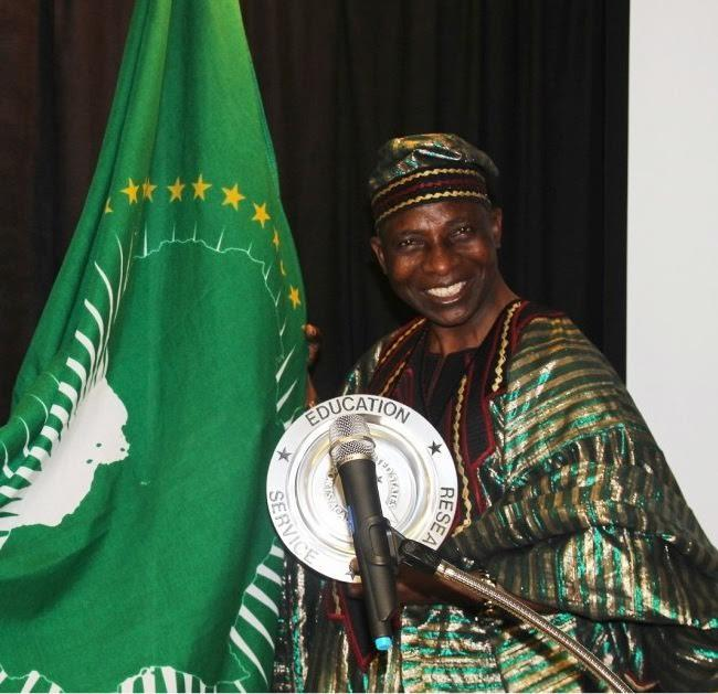Chief Tunde Adetunji founder of the Africa Heritage Center