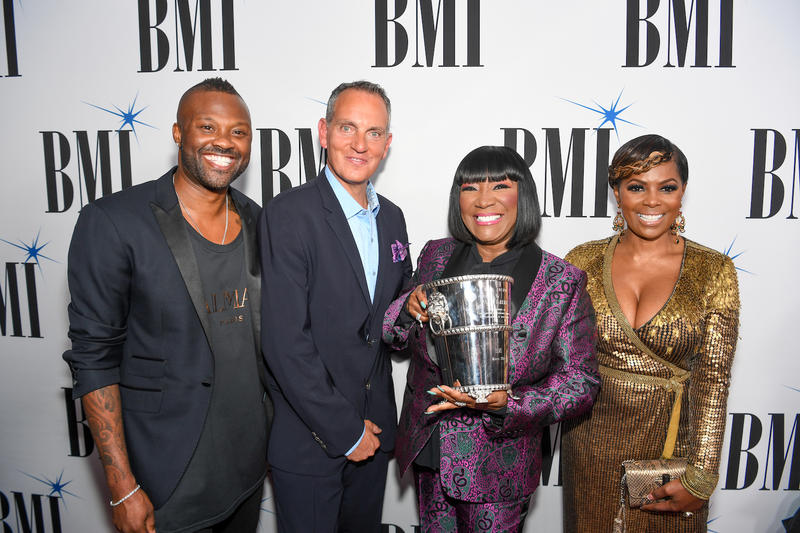 Patti LaBelle with BMI's Wardell Malloy, Mike O'Neill and Catherine Brewton