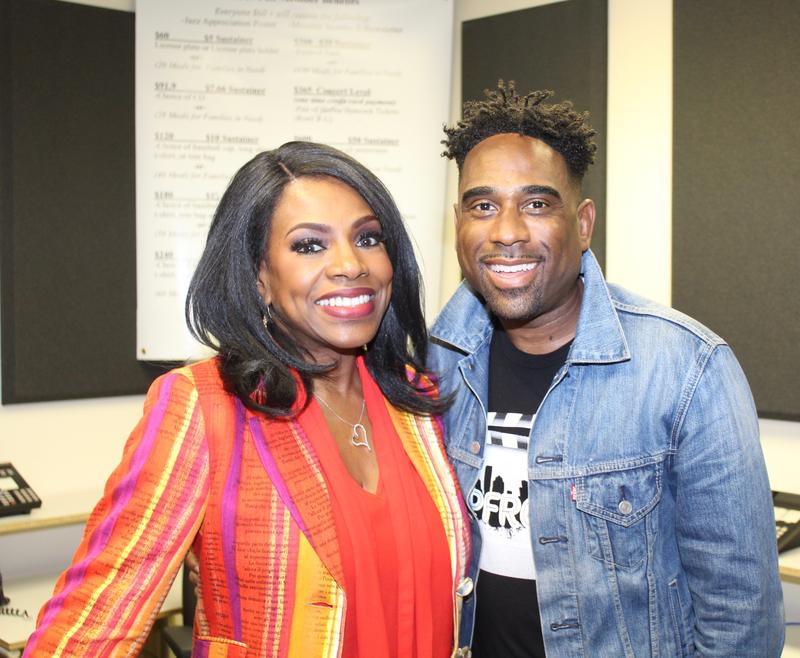 Ray Cornelius with Sheryl Lee Ralph