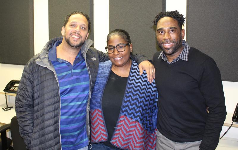 Ray Cornelius with Maynard H. Jackson III and Wendy Eley Jackson