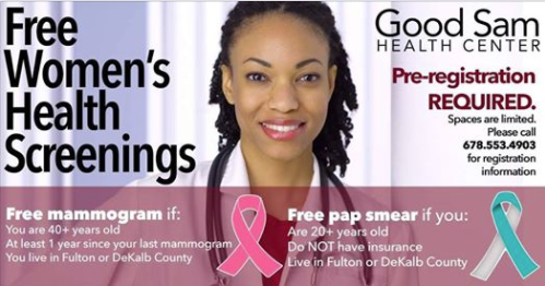 January is Cervical Cancer Awareness Month - Free Women's Screenings