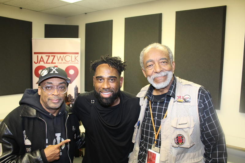 Ray Cornelius with Spike Lee and Dr. Herbert L. Eichelberger